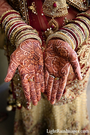 Indian wedding bridal fashion mehndi in Phoenix, Arizona Indian Wedding by LightRain Images