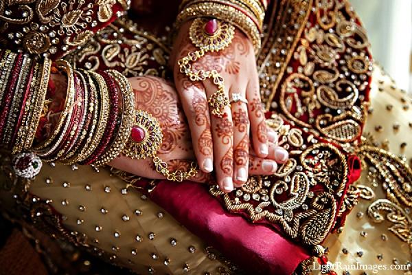 Indian wedding bride fashion bridal mehndi in Phoenix, Arizona Indian Wedding by LightRain Images