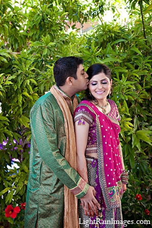 Indian wedding bride groom photography puja in Phoenix, Arizona Indian Wedding by LightRain Images