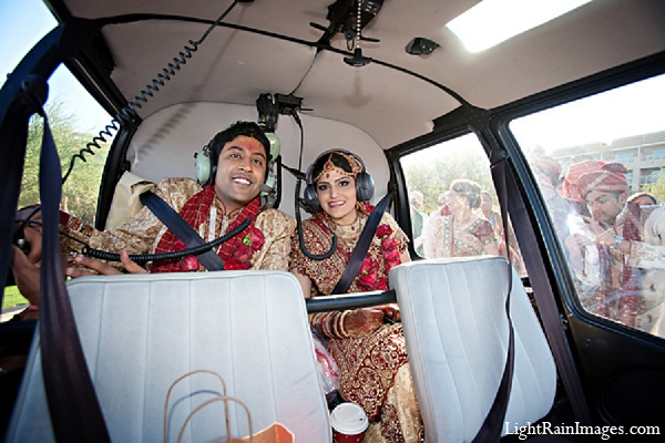 Indian wedding bride groom transportation in Phoenix, Arizona Indian Wedding by LightRain Images