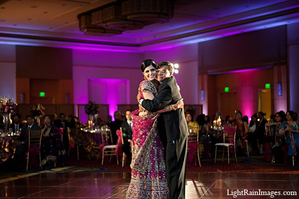 Indian wedding bride reception photography in Phoenix, Arizona Indian Wedding by LightRain Images