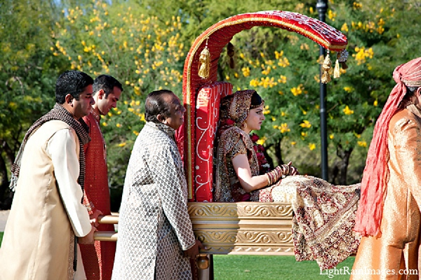Indian wedding ceremony bride doli in Phoenix, Arizona Indian Wedding by LightRain Images