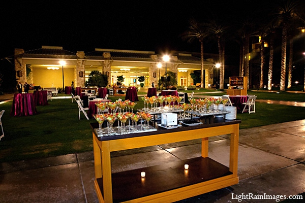 Indian wedding cocktails venue outdoor in Phoenix, Arizona Indian Wedding by LightRain Images