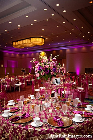 Indian wedding floral decor reception in Phoenix, Arizona Indian Wedding by LightRain Images