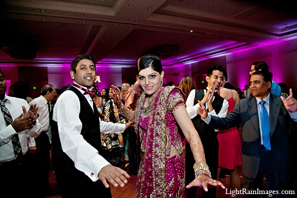Indian wedding groom bride reception in Phoenix, Arizona Indian Wedding by LightRain Images