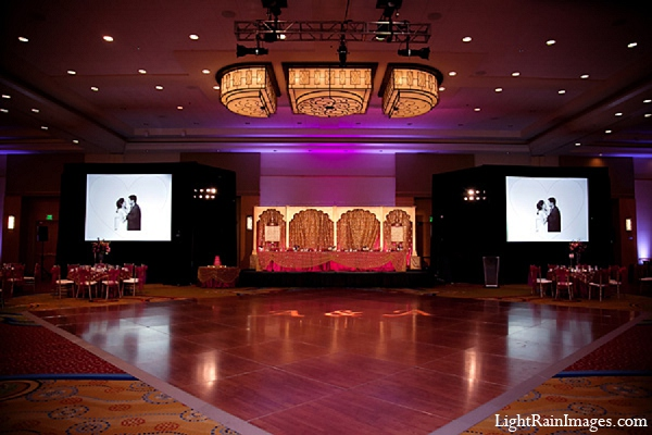 Indian wedding hall reception venue in Phoenix, Arizona Indian Wedding by LightRain Images