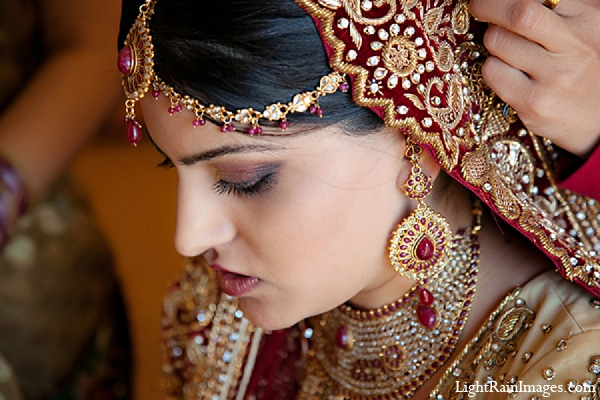 Indian wedding makeup bridal fashion in Phoenix, Arizona Indian Wedding by LightRain Images