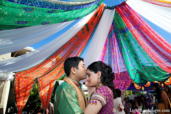 Indian-wedding-puja-groom-bride in Phoenix, Arizona Indian Wedding by LightRain Images