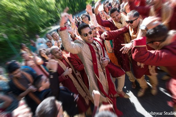 Indian wedding baraat traditions in Parsippany, New Jersey Indian Wedding by Lightyear Studio