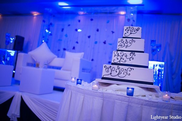 Indian wedding cake in Parsippany, New Jersey Indian Wedding by Lightyear Studio