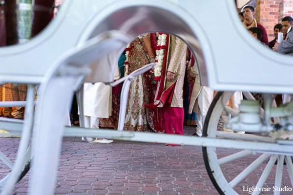 Indian wedding carriage in Parsippany, New Jersey Indian Wedding by Lightyear Studio
