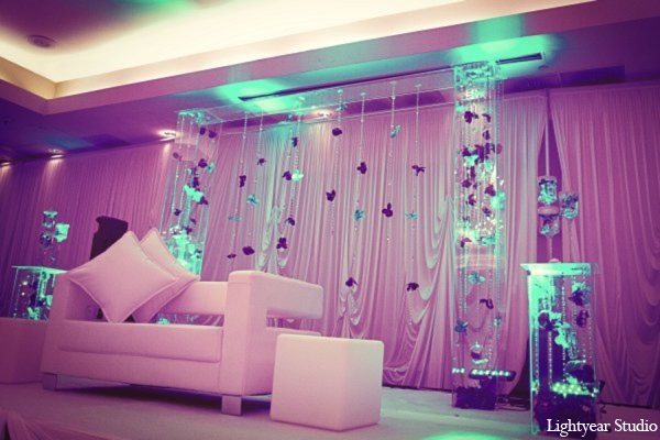 purple,white,baby pink,blue,Floral & Decor,Lighting,indian wedding decor,indian wedding decorations,Lightyear Studio