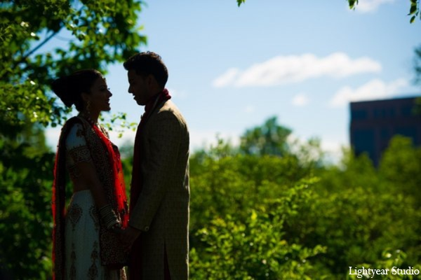Indian wedding portrait ideas in Parsippany, New Jersey Indian Wedding by Lightyear Studio