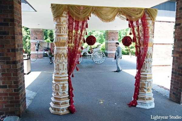 Indian wedding transportation in Parsippany, New Jersey Indian Wedding by Lightyear Studio