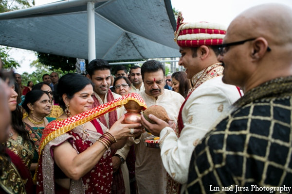 Baraat indian wedding in Newport Beach, CA Indian Wedding by Lin and Jirsa Photography