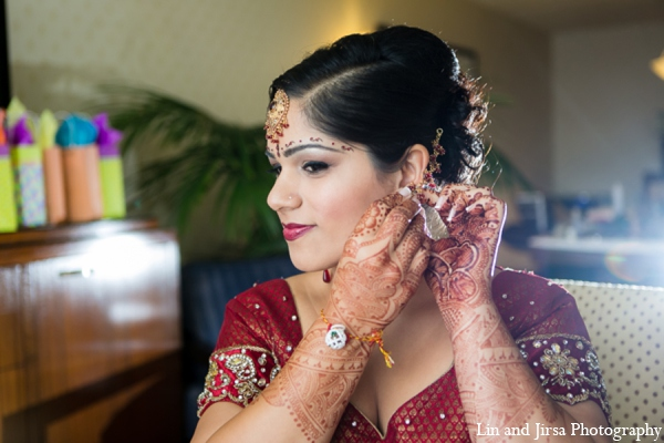 Indian bridal jewelry in Newport Beach, CA Indian Wedding by Lin and Jirsa Photography