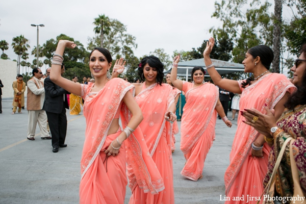 Indian wedding baraat in Newport Beach, CA Indian Wedding by Lin and Jirsa Photography
