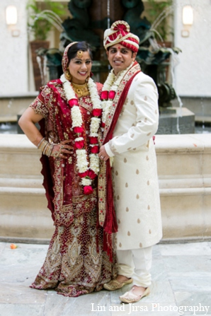 Indian wedding brideg room in Newport Beach, CA Indian Wedding by Lin and Jirsa Photography