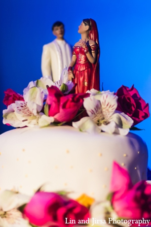 Indian wedding cakes in Newport Beach, CA Indian Wedding by Lin and Jirsa Photography