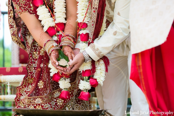 Indian wedding ceremony in Newport Beach, CA Indian Wedding by Lin and Jirsa Photography