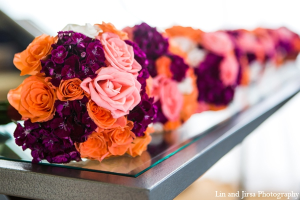 Indian wedding floral decor in Newport Beach, CA Indian Wedding by Lin and Jirsa Photography