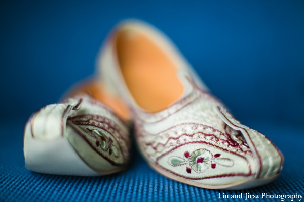 Indian wedding groom shoes in Newport Beach, CA Indian Wedding by Lin and Jirsa Photography