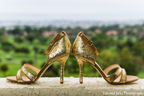 Indian wedding heels in Newport Beach, CA Indian Wedding by Lin and Jirsa Photography