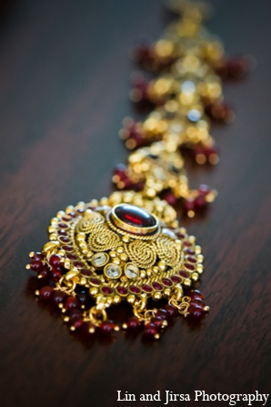 Indian wedding jewelry in Newport Beach, CA Indian Wedding by Lin and Jirsa Photography