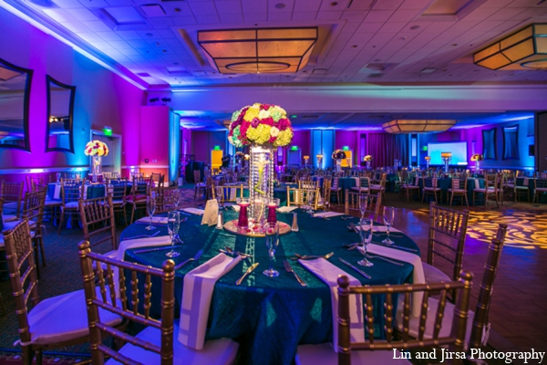 purple,gold,teal,hot pink,blue,Floral & Decor,Lighting,Planning & Design,indian wedding decor,indian wedding decorations,Lin and Jirsa Photography