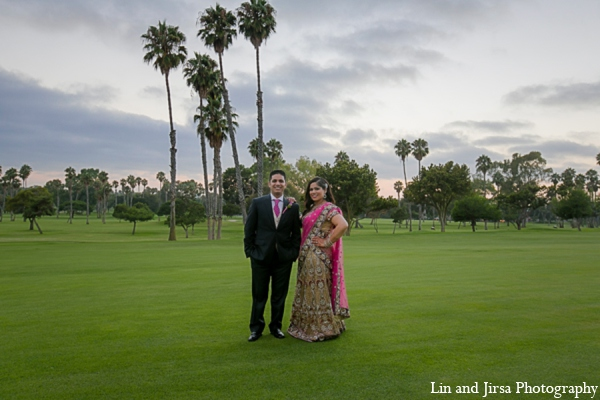 Indian wedding portraits in Newport Beach, CA Indian Wedding by Lin and Jirsa Photography