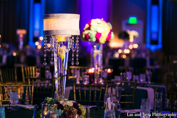 Indian wedding reception decor in Newport Beach, CA Indian Wedding by Lin and Jirsa Photography