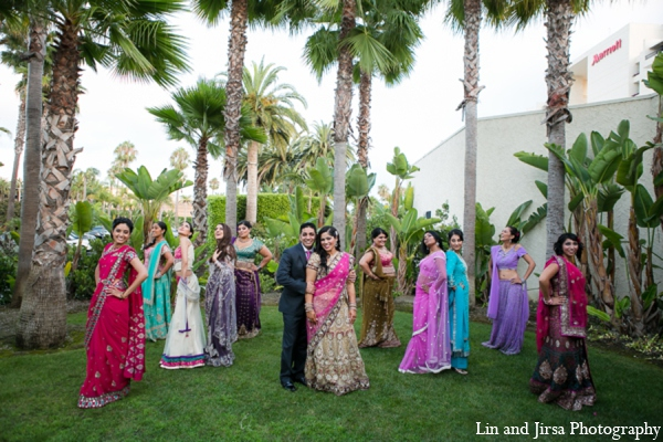 Indian wedding reception photos in Newport Beach, CA Indian Wedding by Lin and Jirsa Photography