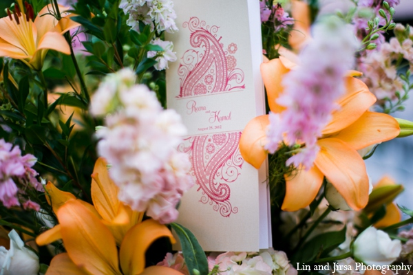 Indian wedding stationary in Newport Beach, CA Indian Wedding by Lin and Jirsa Photography