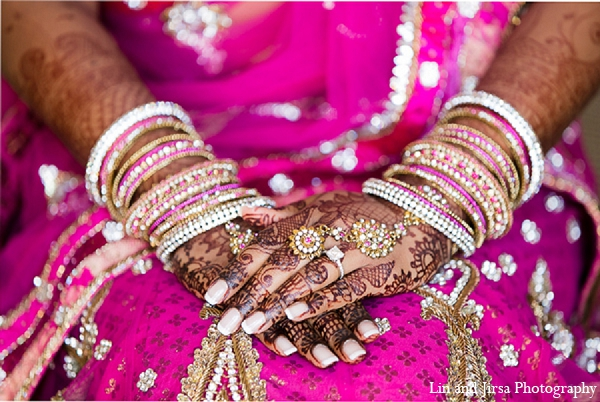 Featured Indian Weddings,hot pink,bridal fashions,Mehndi Artists,indian wedding jewelry,mehndi,indian bridal jewelry,indian bride jewelry,indian jewelry,indian wedding jewelry for brides,indian bridal jewelry sets,bridal mehndi,Lin and Jirsa Photography