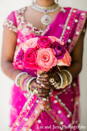 hot pink,baby pink,bridal fashions,Mehndi Artists,bridal bouquet,floral bouquet,indian wedding bouquet,indian bridal bouquet,wedding bouquet,Lin and Jirsa Photography,indian floral bouquet,indian bouquet,floral wedding bouquet