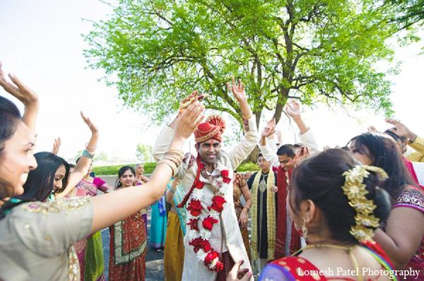 Indian wedding baraat groom photography