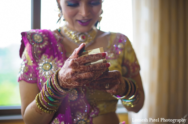Indian wedding bride lengha photography