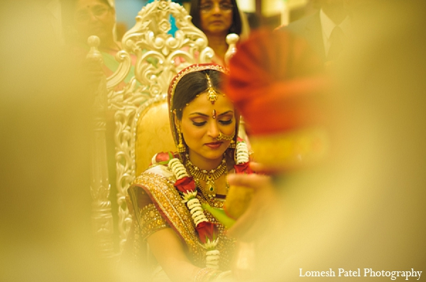 Indian wedding ceremony bride photography