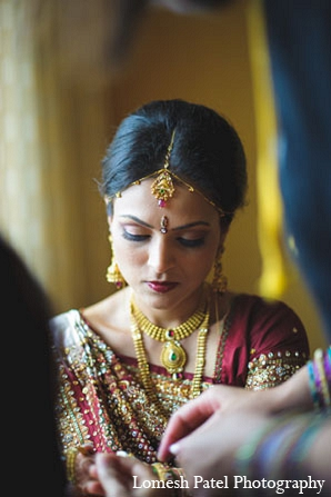 Indian wedding makeup bridal jewelry