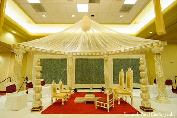 Indian wedding mandap decor hindu