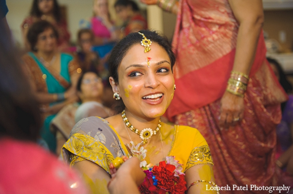 Indian wedding pithi bride photography