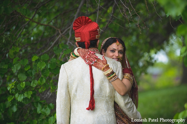 Indian wedding portraits bride groom