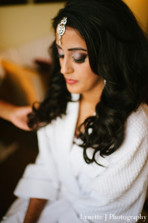 Indian-wedding-bride-getting-ready-for-her-reception