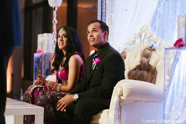 Indian-wedding-bride-groom-at-reception