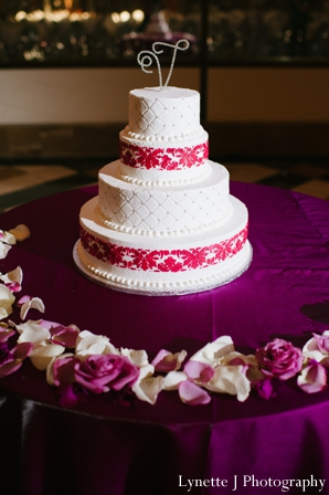 Indian-wedding-cake-white-hot-pink