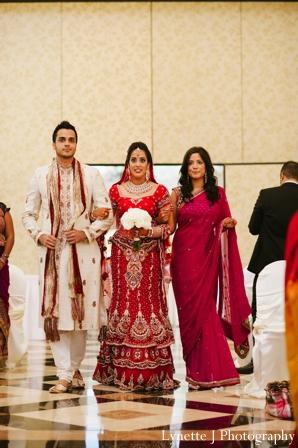 Indian-wedding-ceremony-bride-entrance