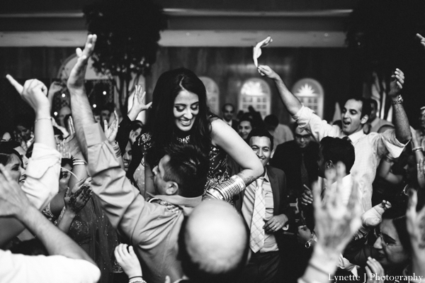 Indian-wedding-photograph-dancing-reception