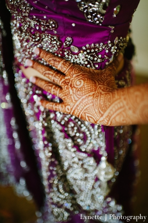 Indian-wedding-reception-bride-lengha-detail