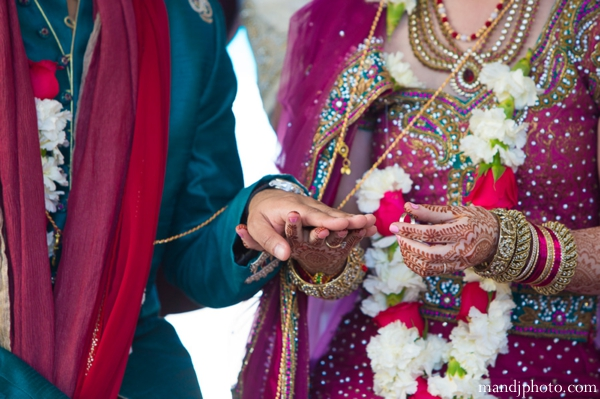 Indian wedding bride groom bangles