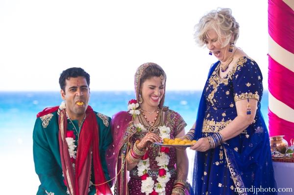 Indian wedding bride groom customs